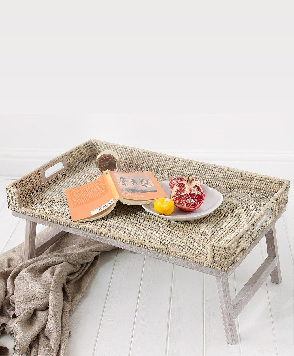 Breakfast Trays For Bed Endearing Rattan Breakfast Tray  Breakfast Tray Rattan And Trays Inspiration