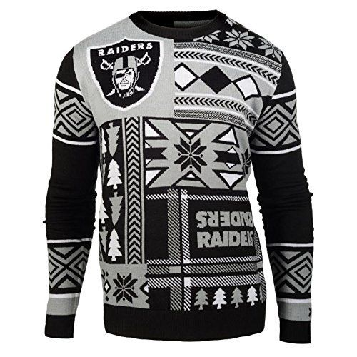 707bd445dcd Oakland Raiders Ugly Christmas Sweaters Christmas Gifts for Everyone ...