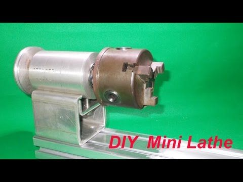 DIY Dynamic Tailstock    Homemade    Spindle Wood Lathe