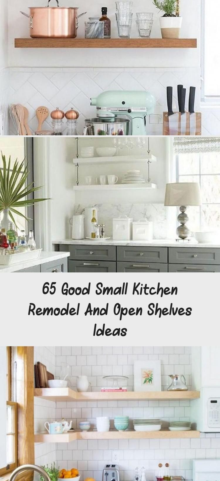 9 Good Small Kitchen Remodel and Open Shelves Ideas kitchens ...