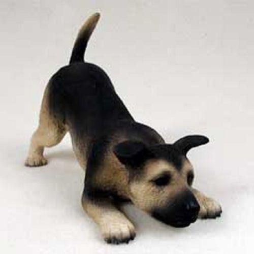 German Shepherd Tan  Black My Dog Figurine