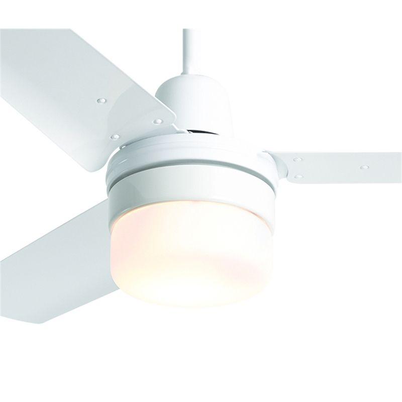 Hpm 90 X 111mm White Clipper Light Suits Ceiling Fans