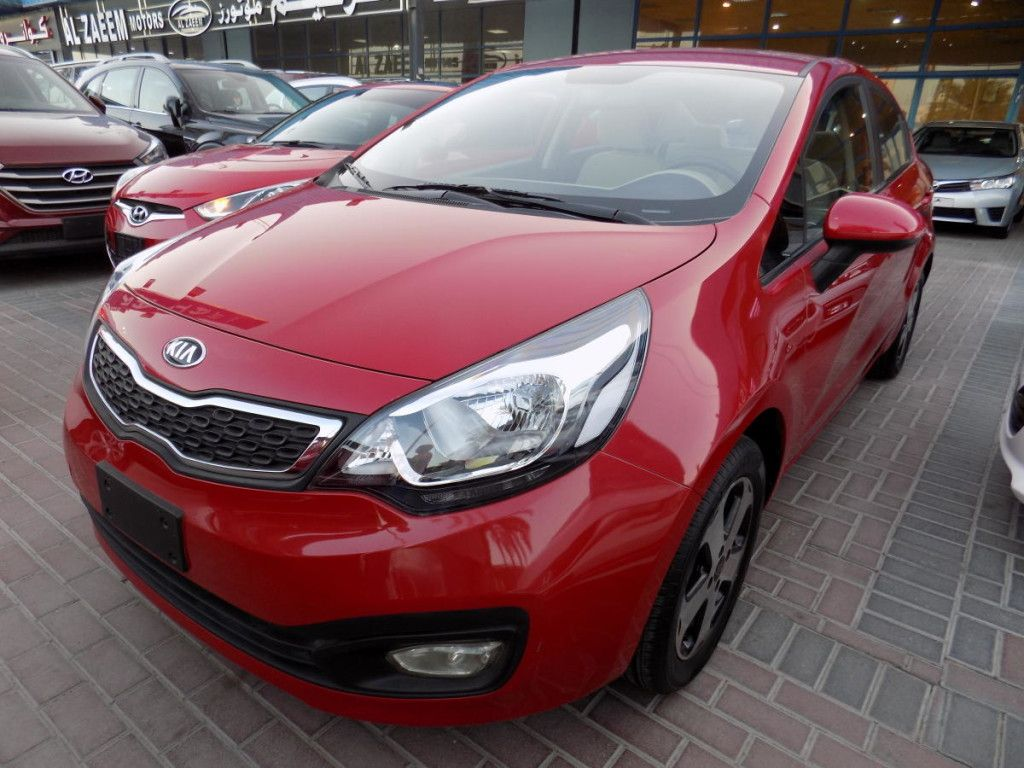 Kia Rio 2015 Red Gcc For Sale Kia Rio Find Used Cars Rio 2015