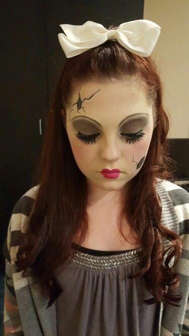 disfraz mueca de halloween trajes de halloween ideas para disfraces de halloween maquillaje de halloween materia de halloween traje de mueca de