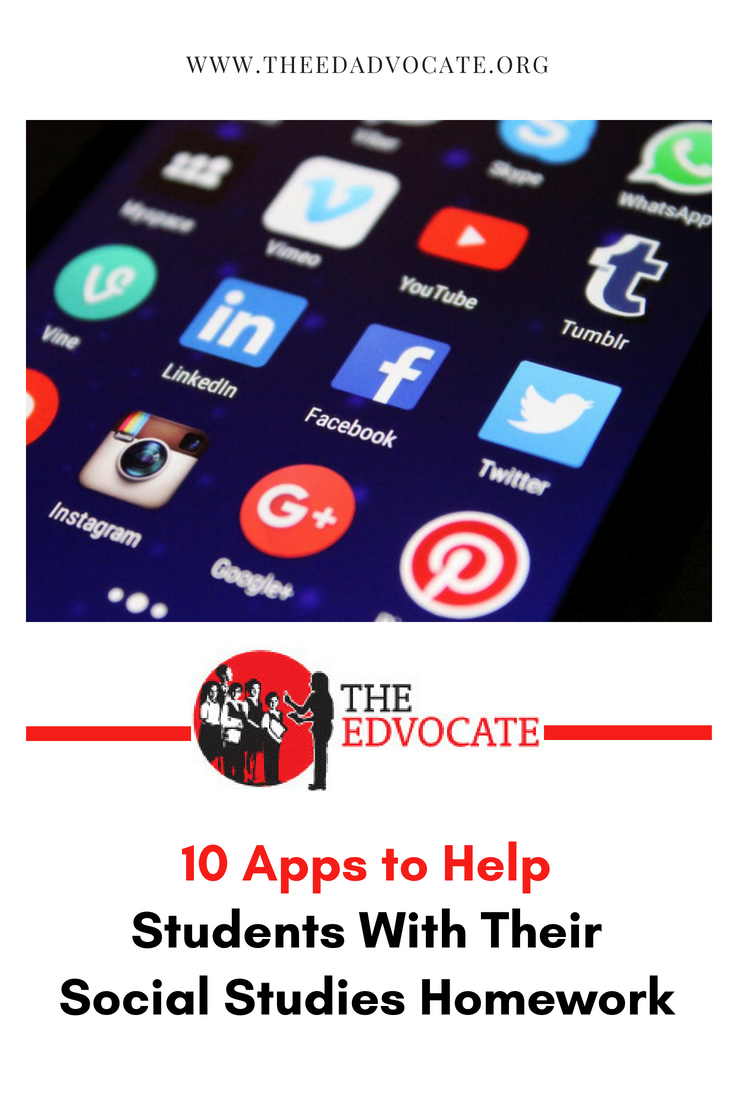 10 apps to help students with their social studies homework | autism