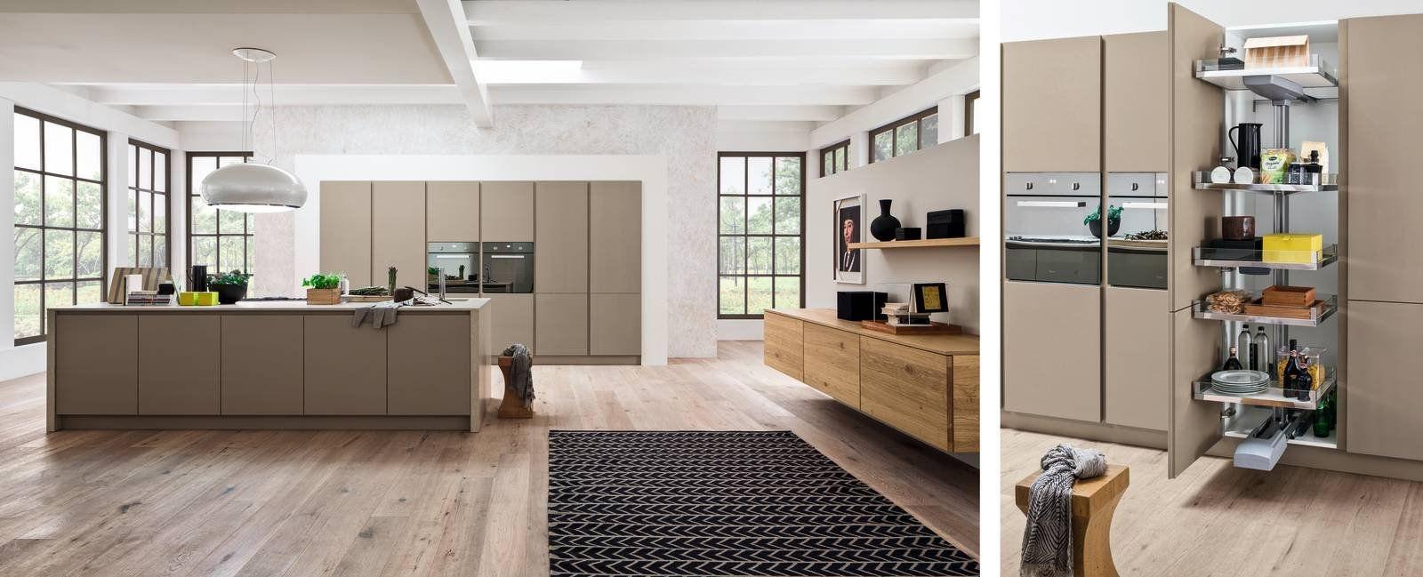 Dentro i mobili della cucina: spazio in più, facile da usare nel ...