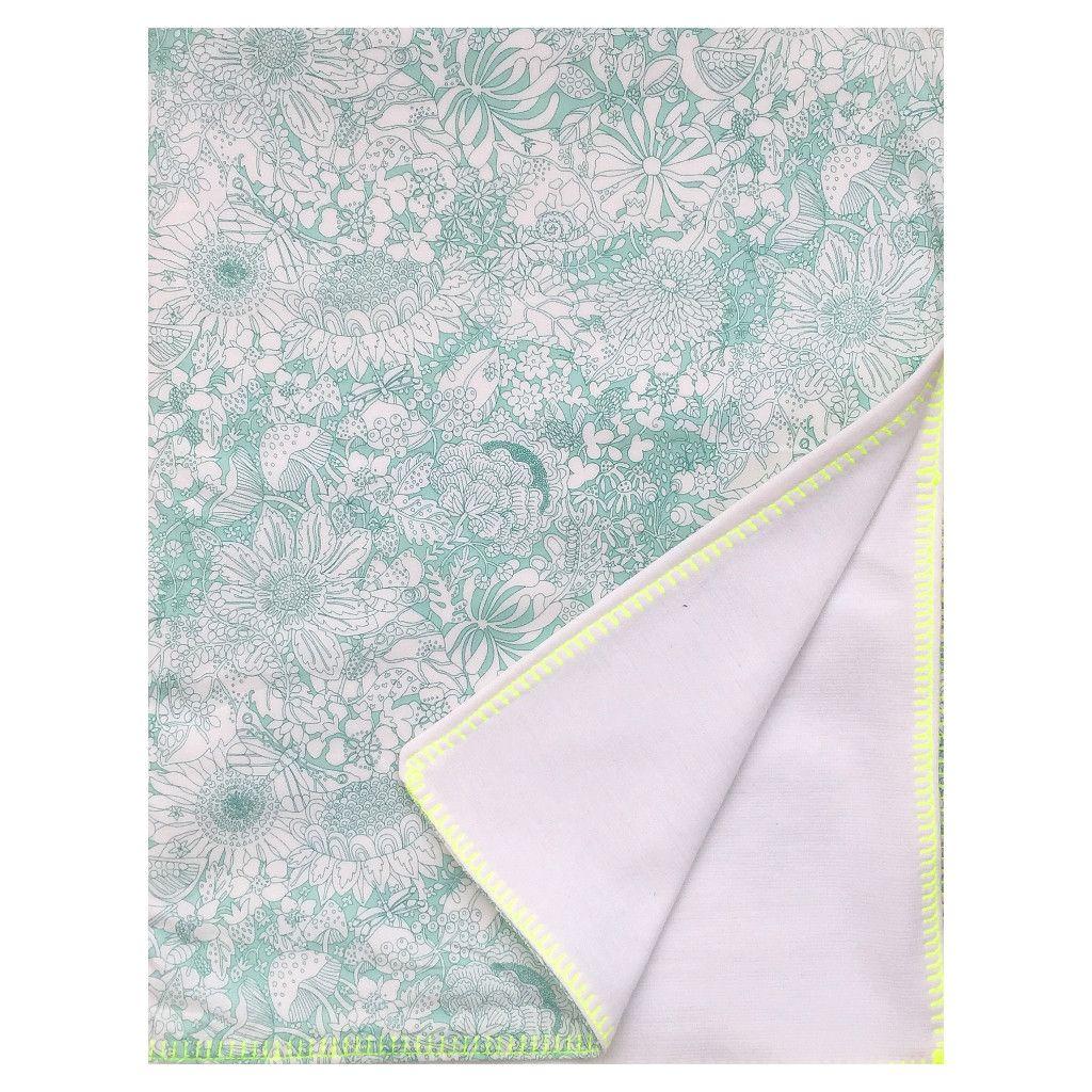 Liberty Print Baby Blanket   Fairy Land