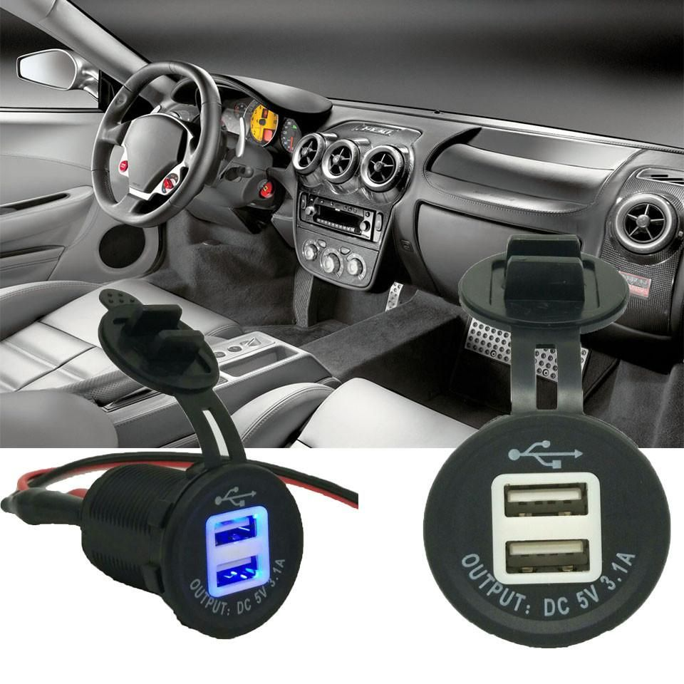 Oberlo My Products Charger Car Car Usb Dual Usb
