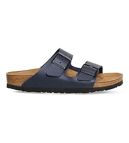 BIRKENSTOCK Arizona Nubuck Leather Sandals. #birkenstock #shoes #sandals