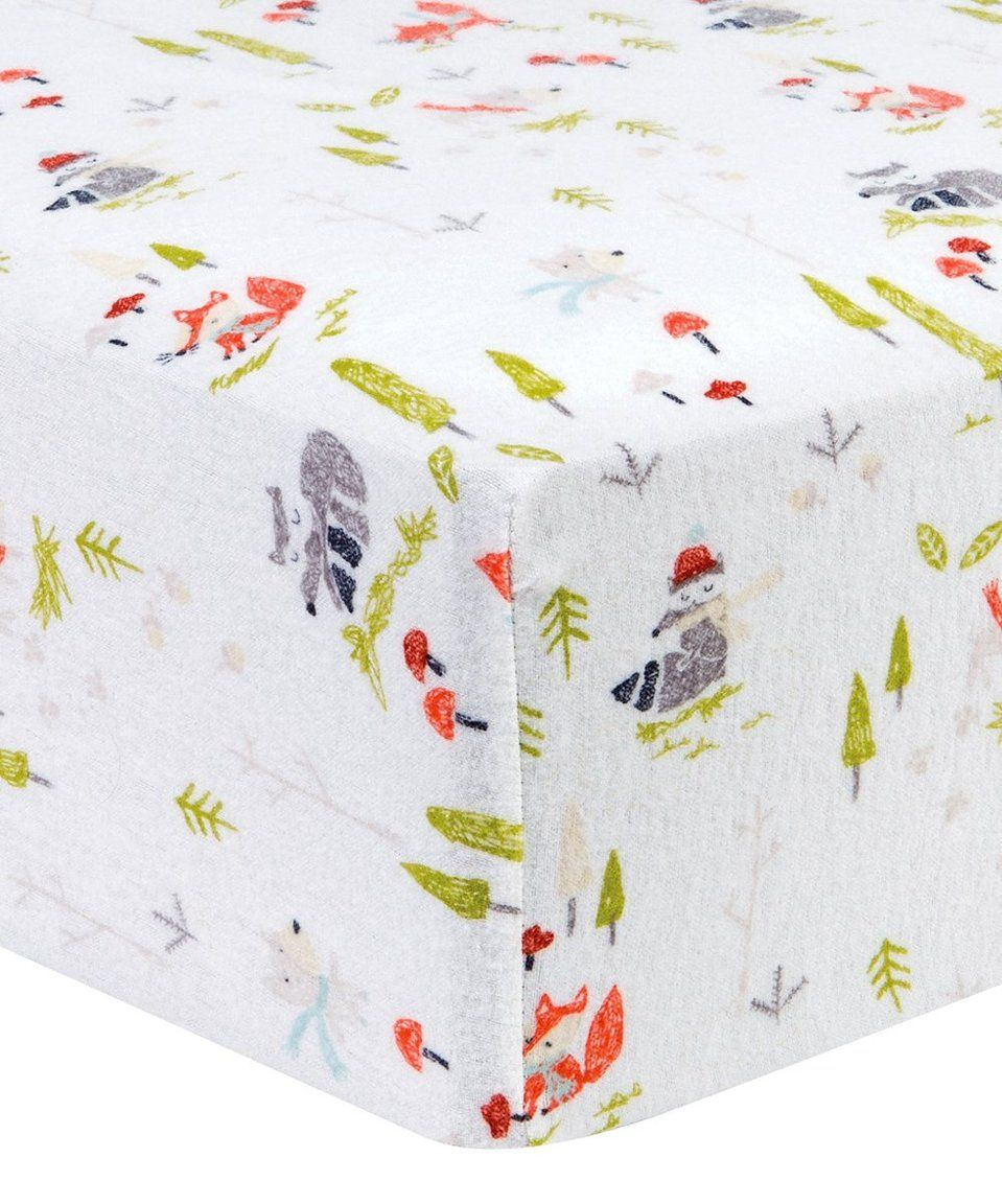 Take A Look At This Winter Woods Deluxe Flannel Fitted Crib Sheet Today Flannel Crib Sheets Fitted Crib Sheet Crib Sheets