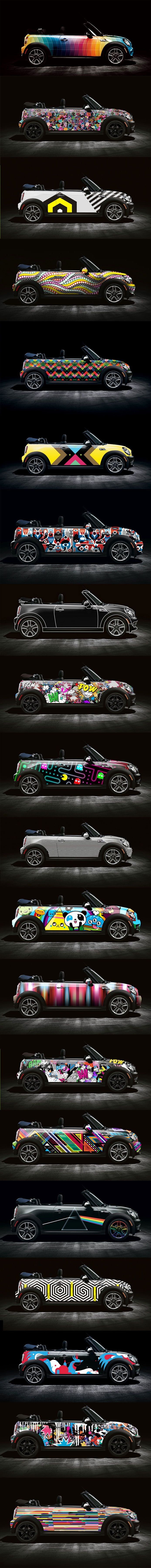 The Mini Wrap Show Learn How I Make Great Money By Sharing Cool Pic Like This Http Crazycashdeposits Com Mini Cooper Car Wrap Mini Cars