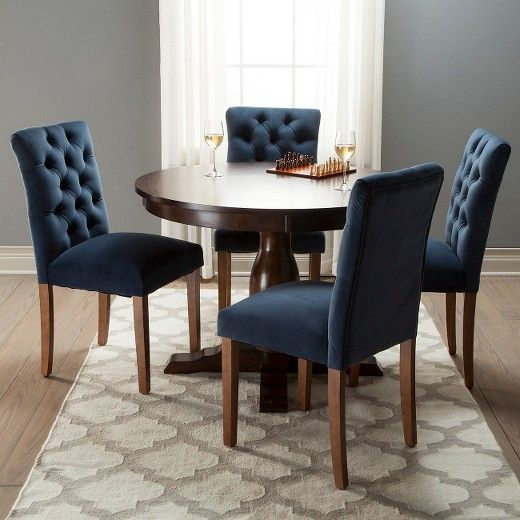 dining huntington homesullivan chair set button p grey chairs linen tufted of