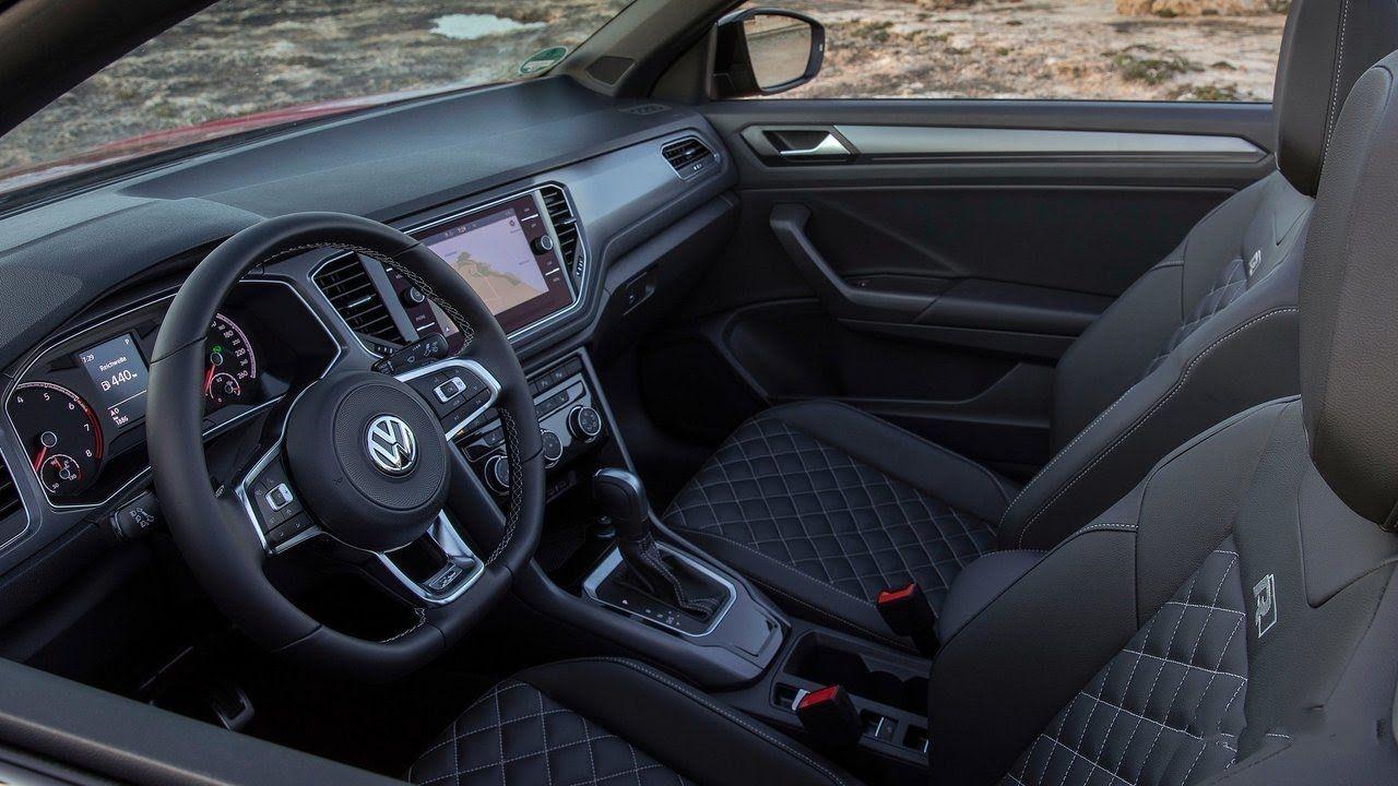 2020 Vw T Roc Cabriolet Interior In 2020 Cabriolets Interior Soft Tops