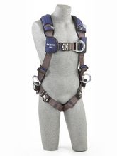ExoFit NEX Vest Style Positioning/Climbing Harness | Includes padded supports and front, back, and side D-rings.