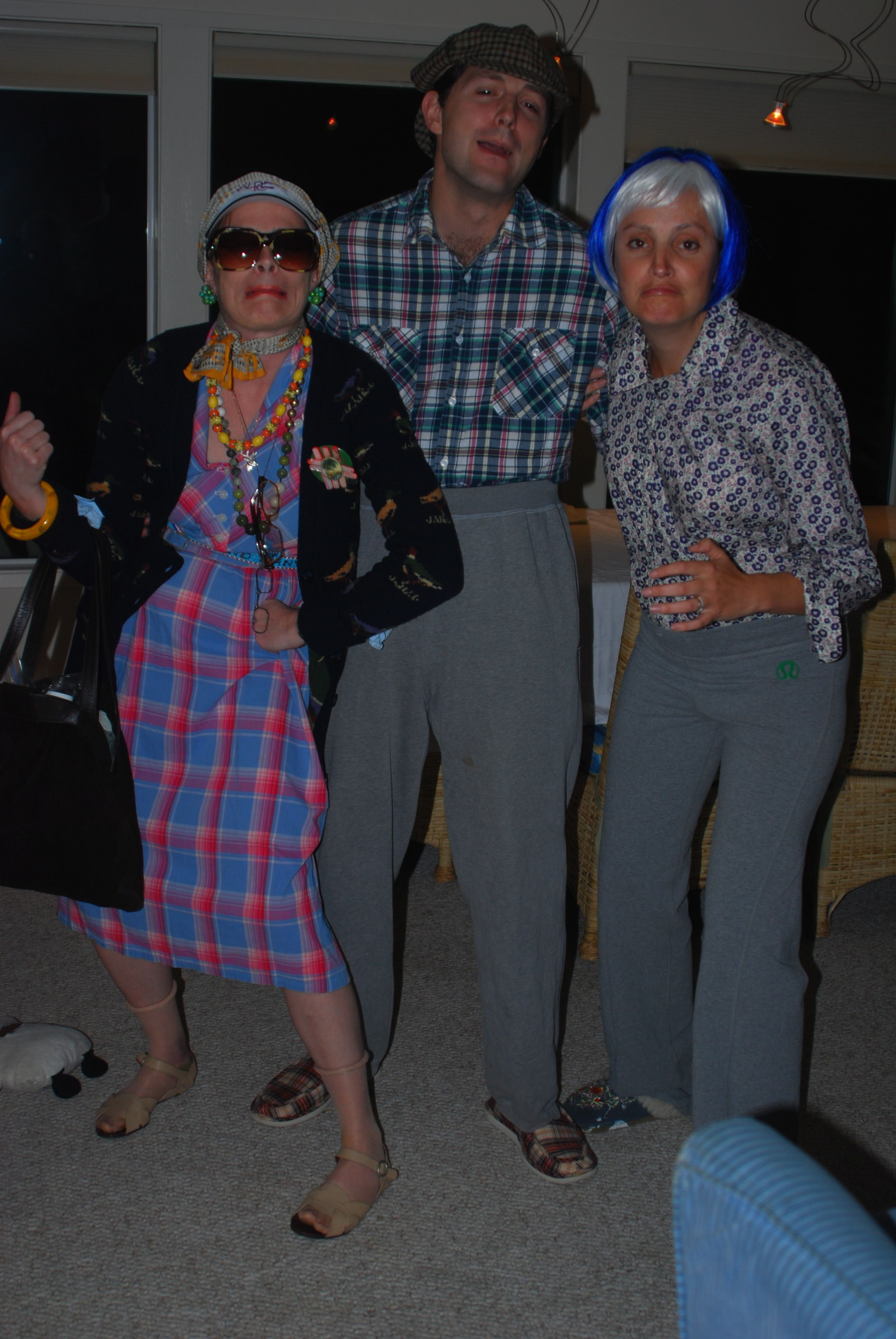 dress like a old person dress like old people. Here