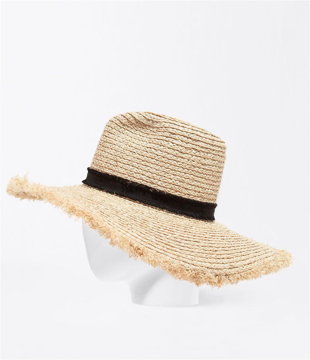 pamela  lazo  sombrero  playa  · ZARA · 17 3a0dc861352