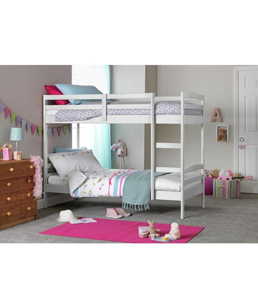 Buy Josie White Shorty Bunk Bed With 2 Elliott Mattresses At Argos