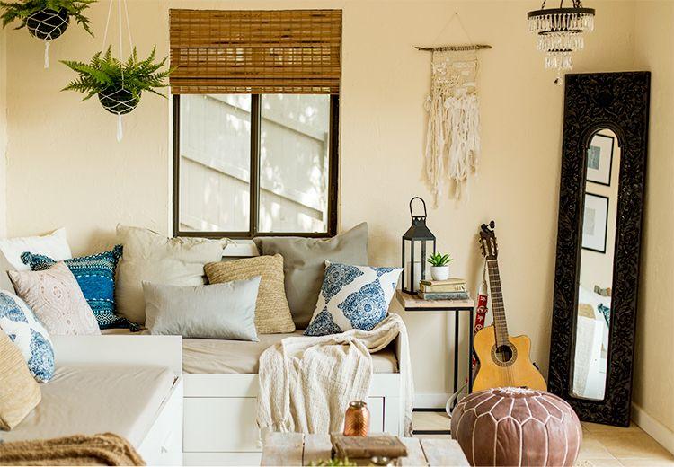 Designing a Bohemian Lounge | Jenna Sue Design Blog