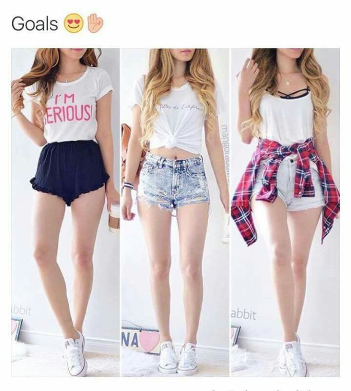 nice outfit goals for summer