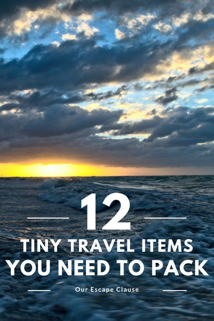 12 Tiny Items Under $50 to Add to Your Travel Packing List Travel