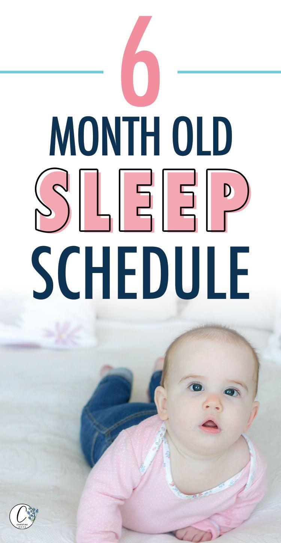 6 Month Old Baby Sleep Schedule | Baby sleep schedule 6 ...