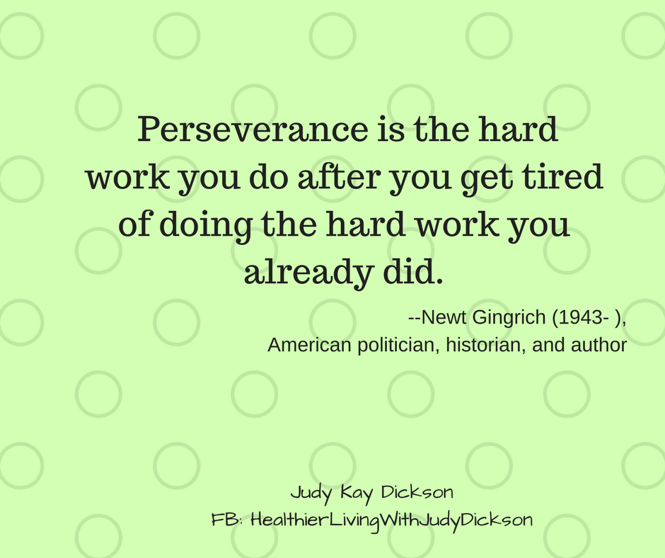 Good Morning Perseverance Is The Hard Work You Do After
