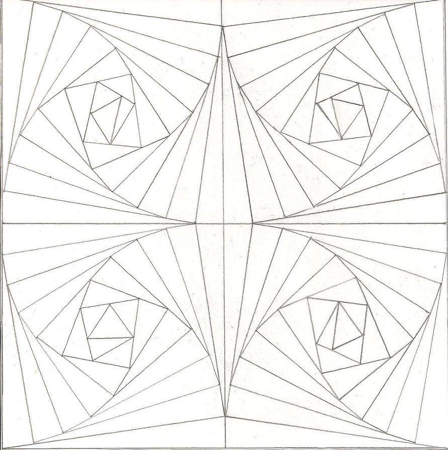 Funny Free Printable Free Printable Optical Illusions Coloring | Fun ...