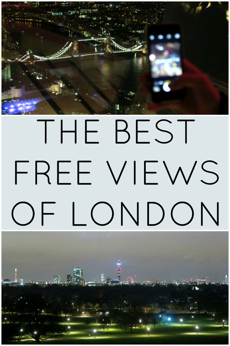 The Best Free Views Of London