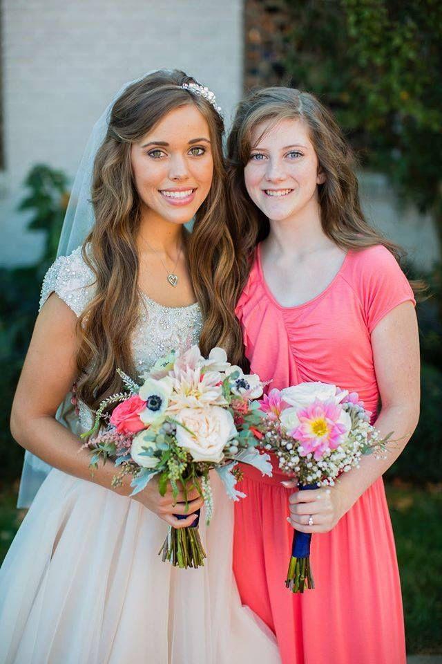 Jessa And Michelle Jessa Duggar Wedding Duggar Wedding 19 Kids And Counting
