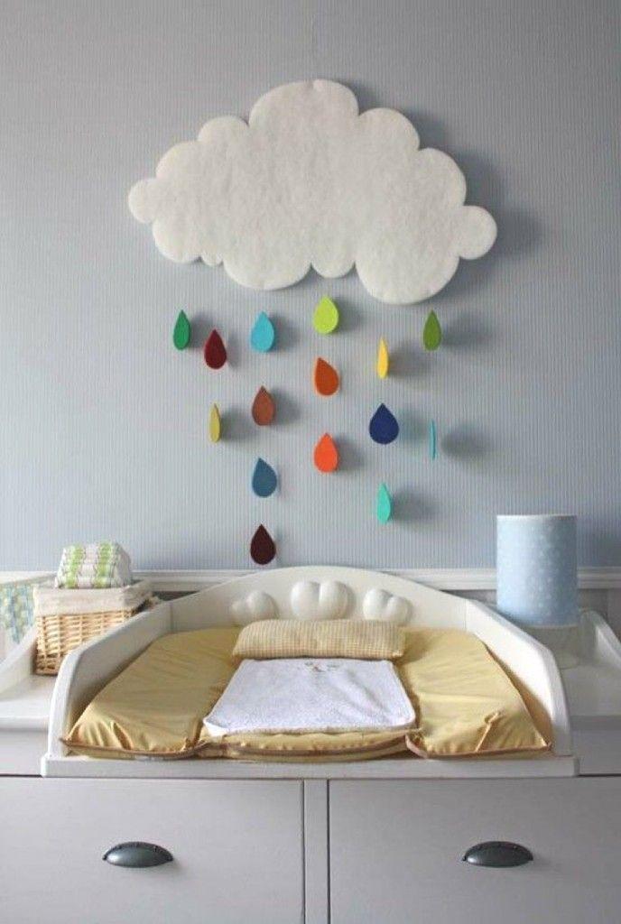 décoration chambre bébé nuage | chambre de bébé | Pinterest ...