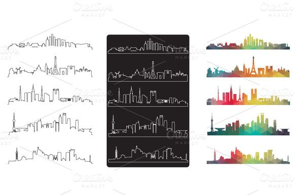 Check out City Vector by vito12 on Creative Market