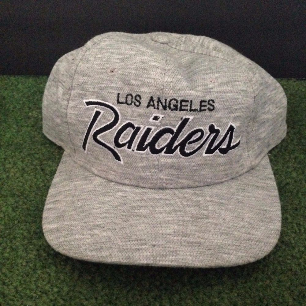 Vintage 80 S La Los Angeles Raiders Nfl Pro Sports Specialties Snapback Hat Snapback Hats Snapback Pro Sports