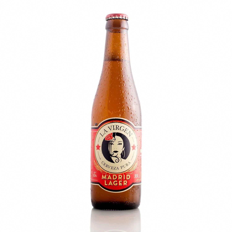 La Virgen Madrid Lager Spain Goldenbrew Cerveza Lager