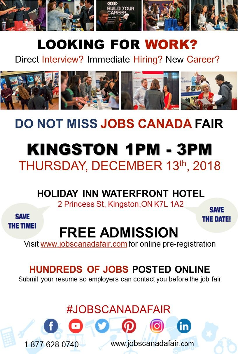 Looking for a job? Direct interview? JOBS CANADA FAIR