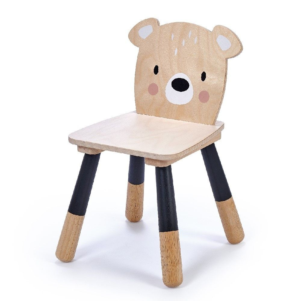 Tender Leaf Forest Bear Chair In 2019 Chair Plywood Chair Bear