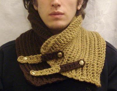 Cuellos tejidos para hombres   Pinterest   Cuellos tejidos para ...