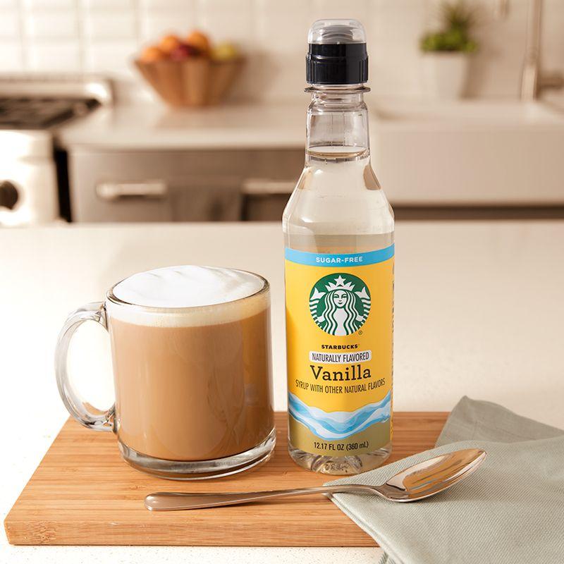 Starbucks Naturally Flavored Sugar Free Vanilla Syrup
