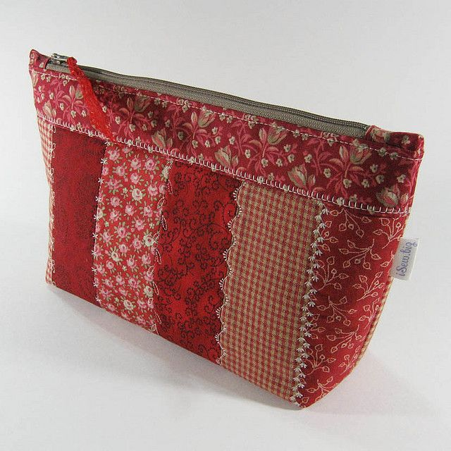 Zipper Pouch - Red Stripes | Flickr - Photo Sharing!