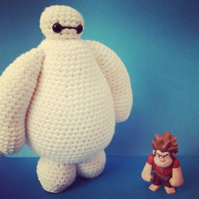 Free Baymax amigurumi Crochet Pattern by KHookCreations | K Hook ...