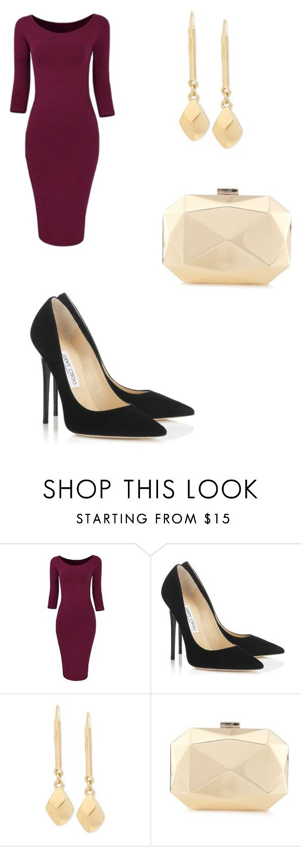 """New York"" by clarinhaw ❤ liked on Polyvore featuring Jimmy Choo and Kenneth Cole"