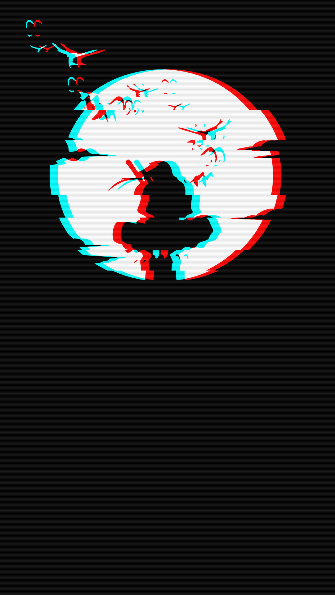 naruto itachi glitch wallpaper phone in 2020 Glitch