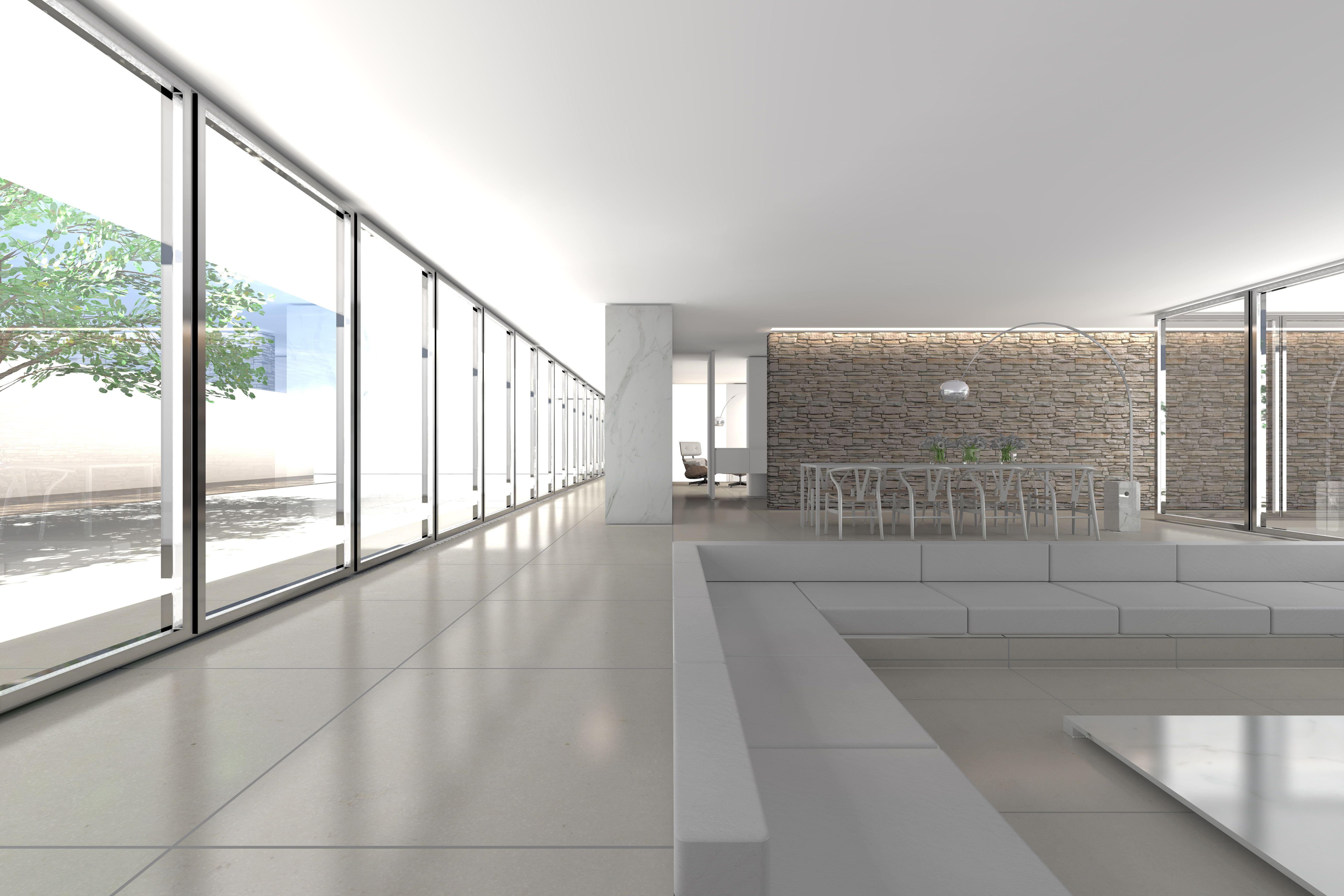 Interior of the House FD by Belgian architect Fliip Deslee _ | I ...
