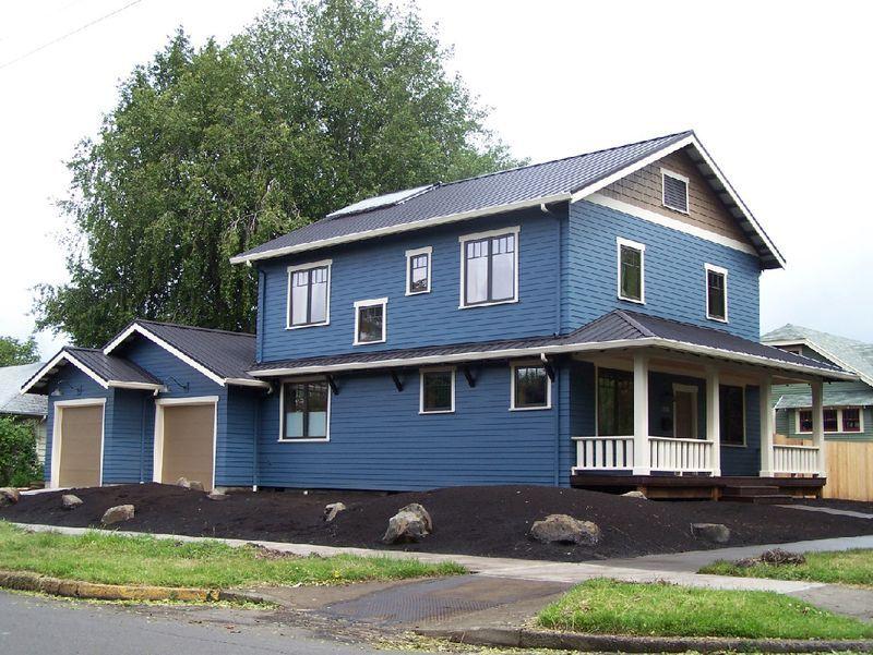 Rueevanspassivehouseoregon Passive house, House