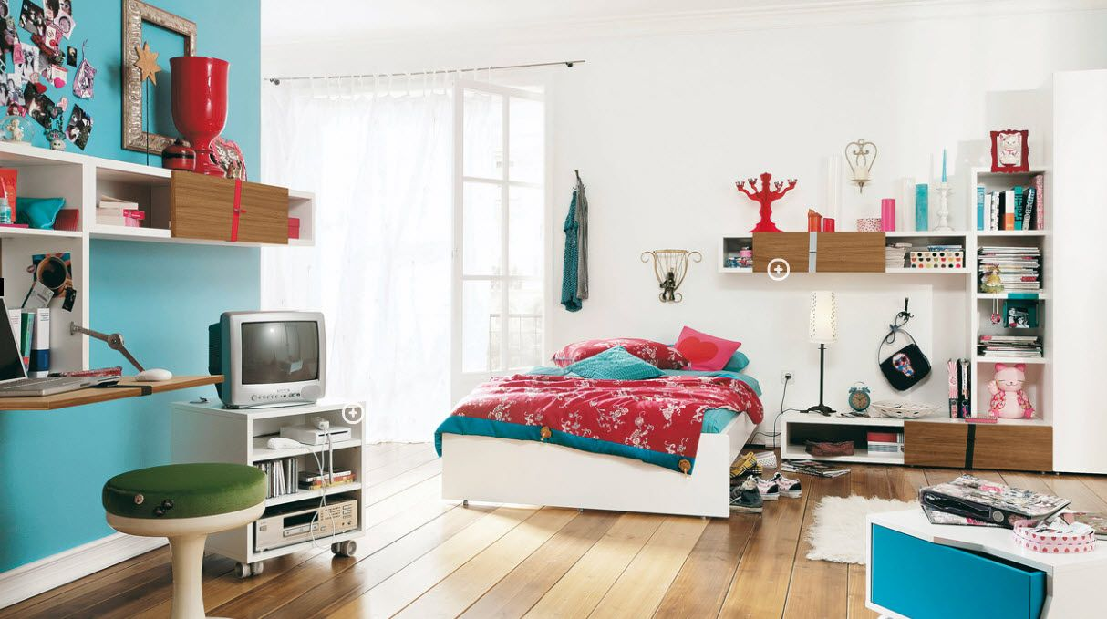 Bedrooms designs for teenagers - Decor For Teenage Bedrooms