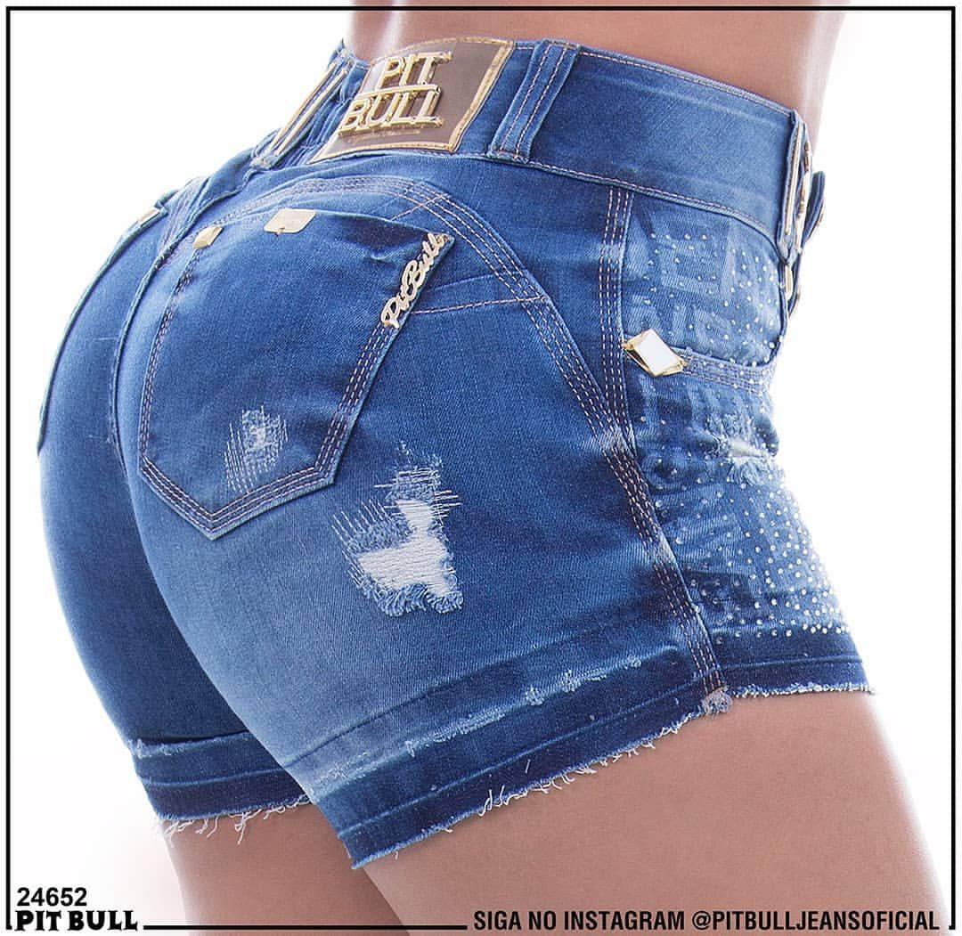 Siga Pit Jeans Short Bull No Instagrampitbulljeansoficial H9EWD2I