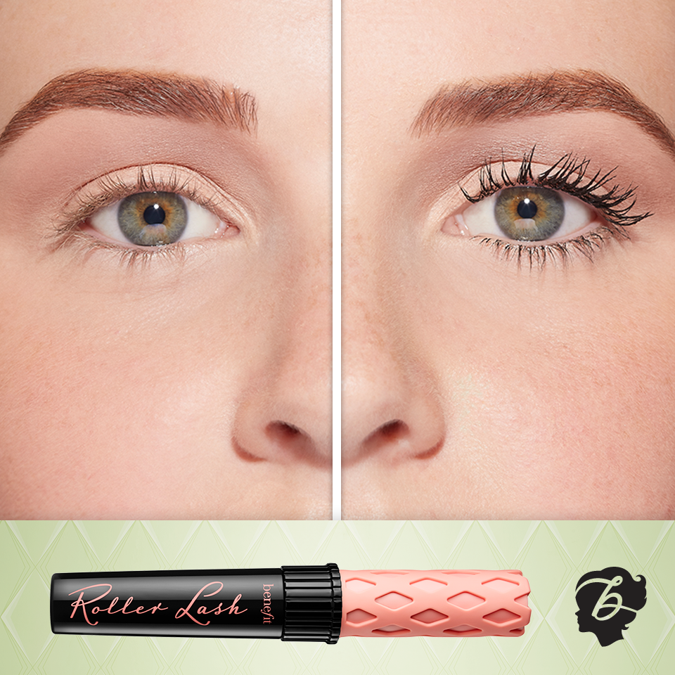 461a13db726 Hook 'n' roll your way from 'so straight' to 'dream curl' with new roller  lash super-curling & lifting mascara. #benefitbeauty
