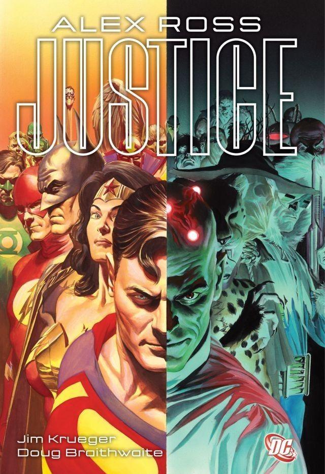 Justice Arte Dc Comics Alex Ross E Tirinhas Dc