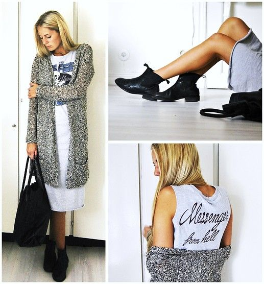 Modekungen Dress, Pieces Bag