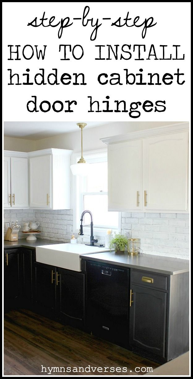 How To Install Hidden Cabinet Hinges Kitchen Cabinets Hinges Diy Kitchen Cabinets Painting Kitchen Cabinet Remodel