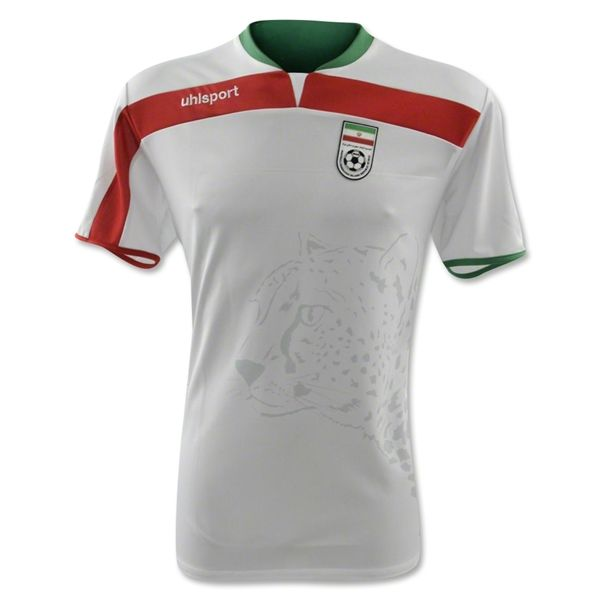 Iran 2014 World Cup Uhlsport Home Shirt Official Iran World Cup World Cup Jerseys World Cup
